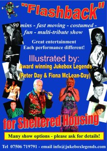 Flashback -  SHELTERED HOUSING Flyer