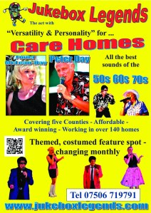 Jukebox Flyer - Care homes